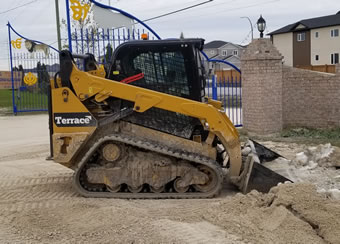 Terrace Excavation Equipment