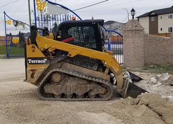 Terrace Excavation Equipment
