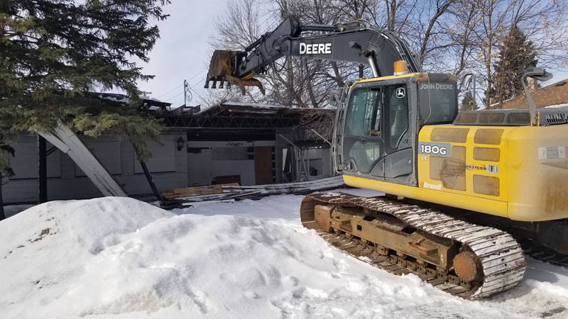 Demolition Contractor Serving Winnipeg, MB.